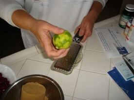 Cranberry_cookies_grating_lime